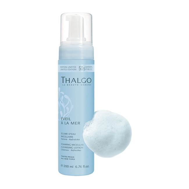 Thalgo Value Size Foaming Micellar Cleansing Lotion 200ml