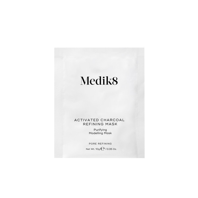 Medik8 Activated Charcoal Refining Mask Kit with Bowl & Spatula