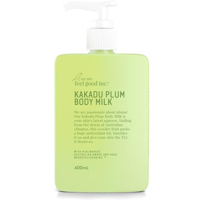We Are Feel Good Kakadu Plum Body Milk Moisturiser 400ml