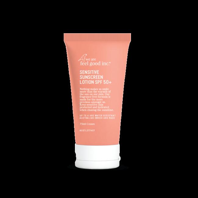 We Are Feel Good Sensitive Sunscreen SPF50+ 75ml