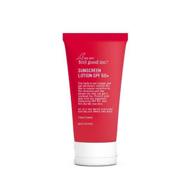 We Are Feel Good Signature Sunscreen SPF50+ 75ml
