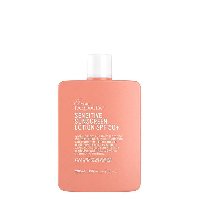 We Are Feel Good Sensitive Sunscreen SPF50+ 200ml