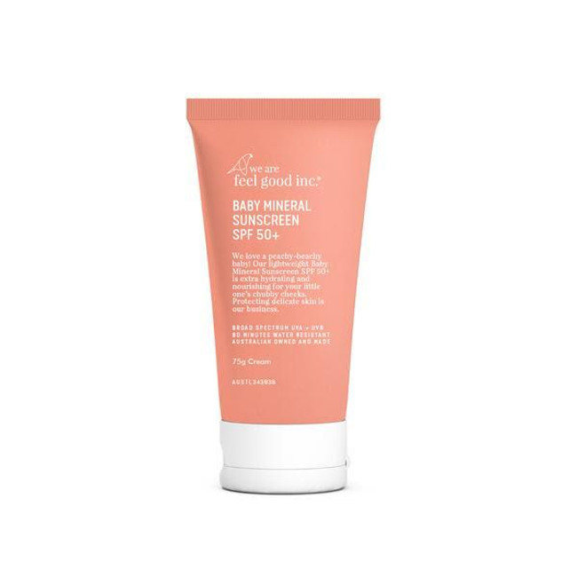 We Are Feel Good Baby Mineral Sunscreen SPF50+ 75ml