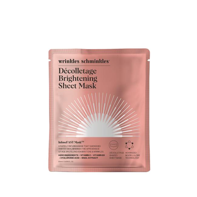 Wrinkles Schminkles InfuseFast Decolletage Sheet Mask