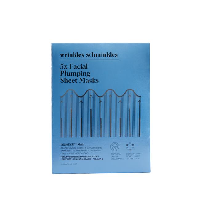 Wrinkles Schminkles InfuseFast Facial Sheet Mask 5Pk