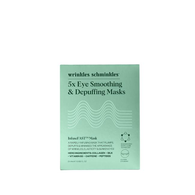 Wrinkles Schminkles InfuseFast Eye Sheet Mask 5Pk