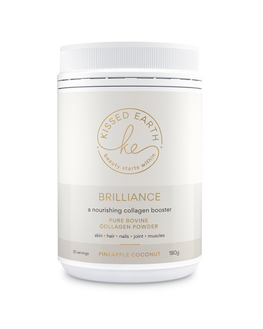 Kissed Earth Brilliance Collagen Booster Pineapple Coconut 180g