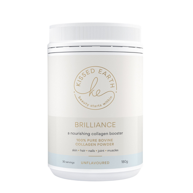 Kissed Earth Brilliance Collagen Booster Unflavoured 180g