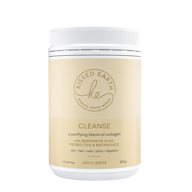 Kissed Earth Cleanse Collagen Apple Beets 240g