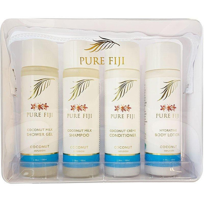 Pure Fiji 4 Pack 100ml Travel Set