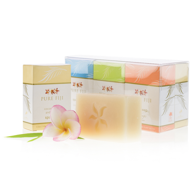 Pure Fiji Spa Soap Set 6pk