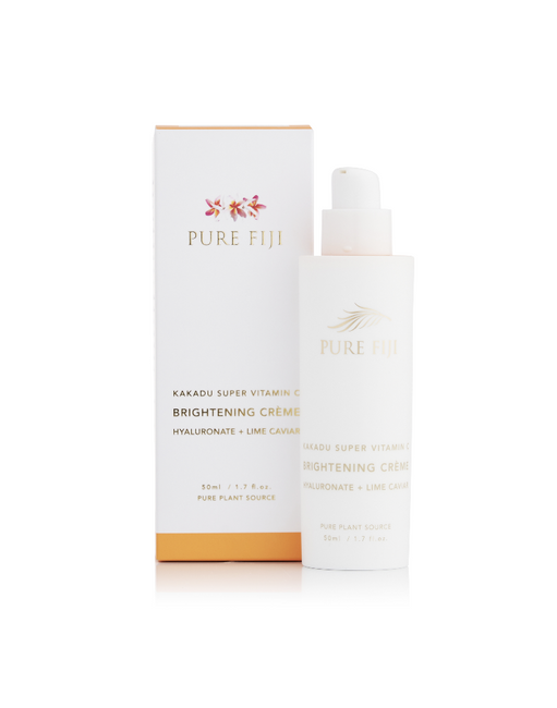 Pure Fiji Brightening Creme with Hyaluronate and Lime Caviar
