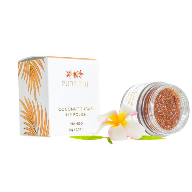 Pure Fiji Coconut Sugar Lip Polish 20g