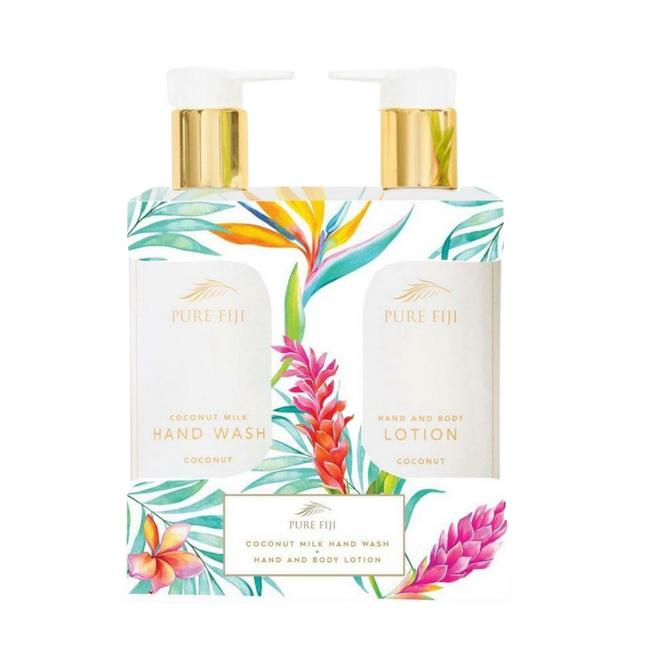 Pure Fiji Vanity Duo Set- Coconut