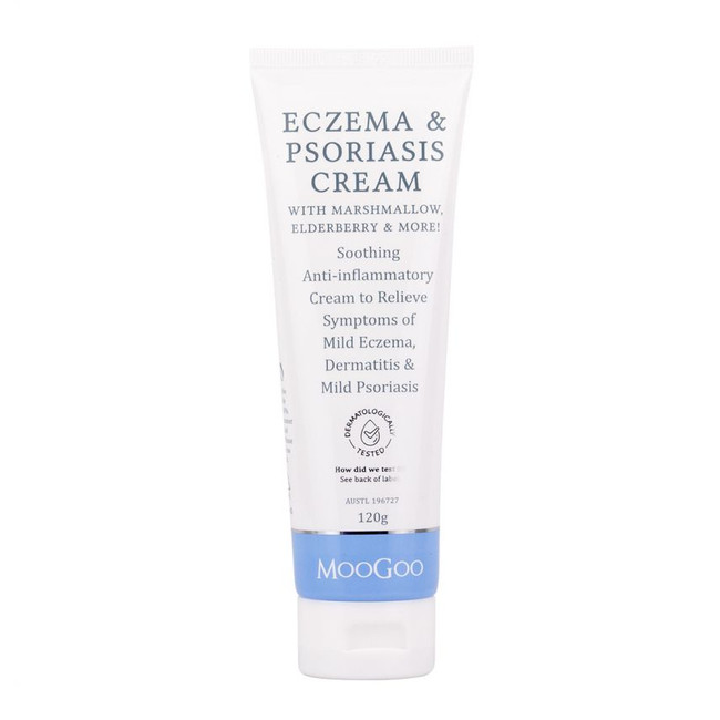 Moogoo Eczema & Psoriasis Cream With Marshmallow 120g