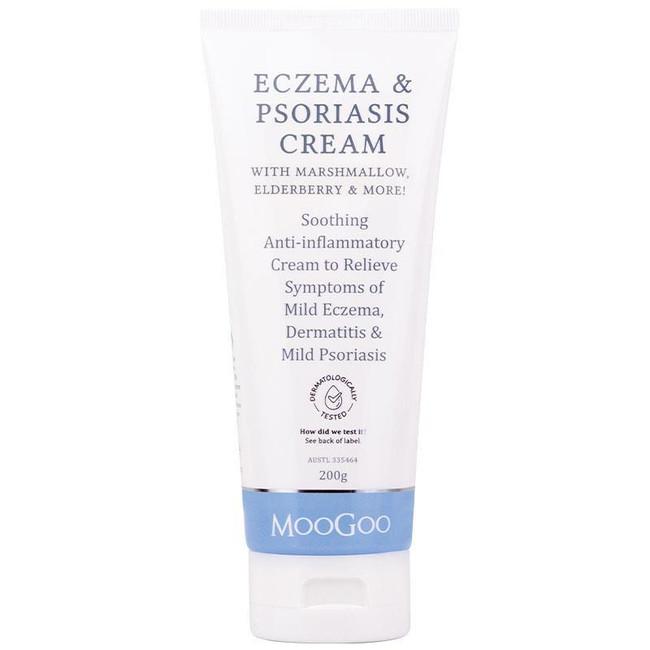 Moogoo Eczema & Psoriasis Cream With Marshmallow 200g