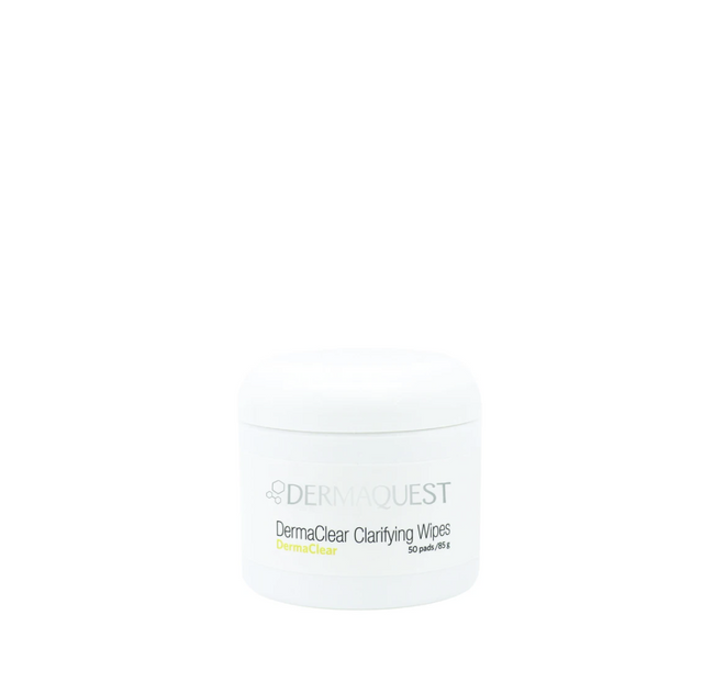 DermaQuest DermaClear Clarifying Wipes 50pk