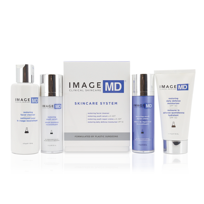 Image MD DR Restoring Skincare System