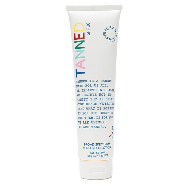 Tanned SPF30 Broad Spectrum Sunscreen Lotion 150g