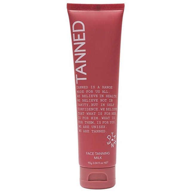 Tanned Face Tanning Milk 90g