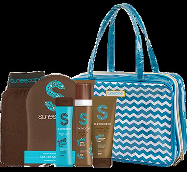 Sunescape Chevron Travel Kit & Bag - Maui