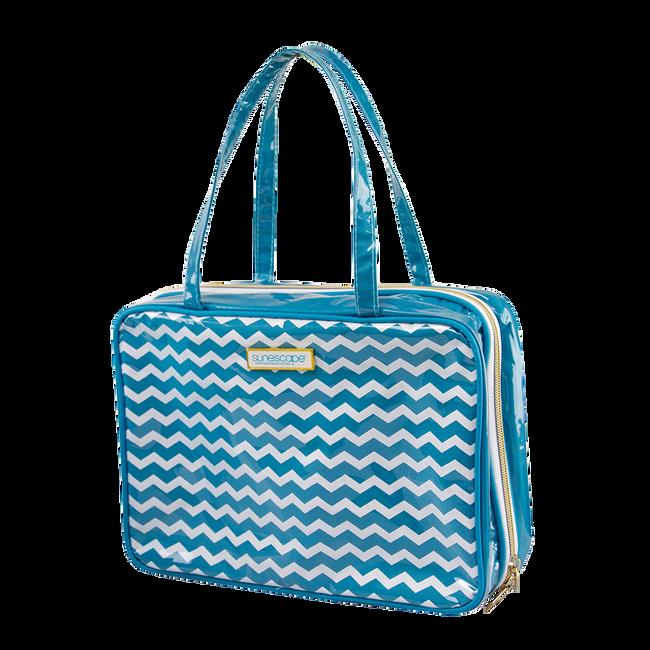 Sunescape Chevron Cosmetic Bag