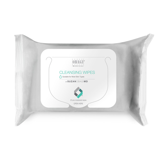 Obagi On the Go Cleansing & Makeup Removing Wipes 25pk
