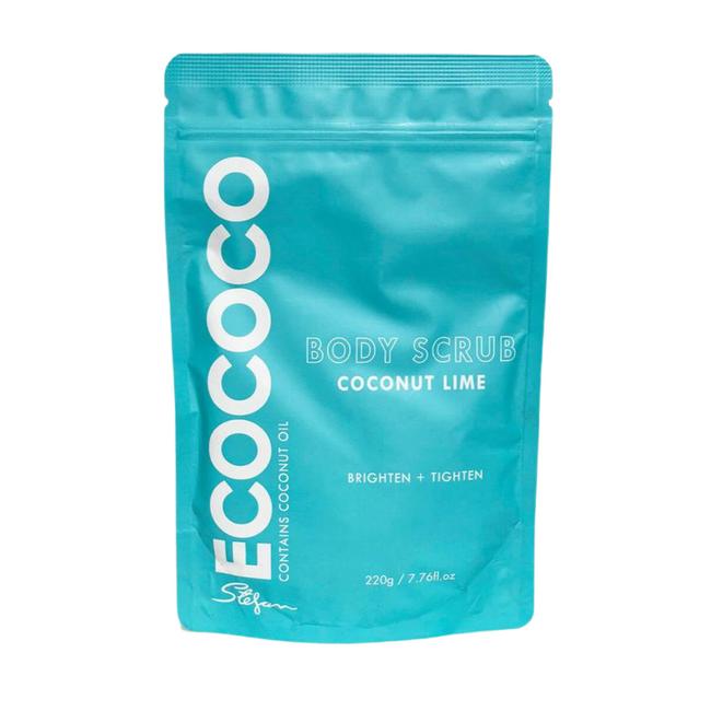 Ecococo Lime Body Scrub 220g