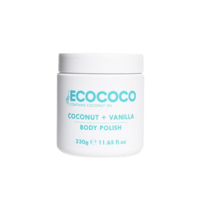 Ecococo Vanilla Body Polish 300g