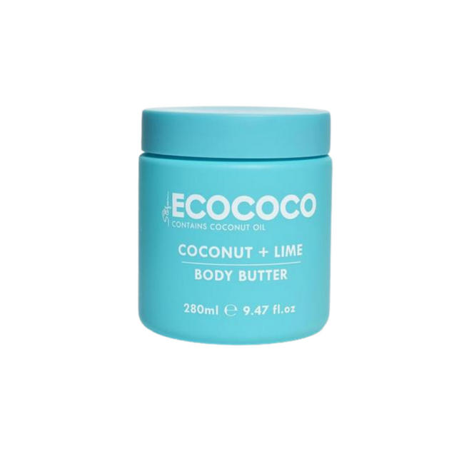 Ecococo Coconut & Lime Body Butter 280g