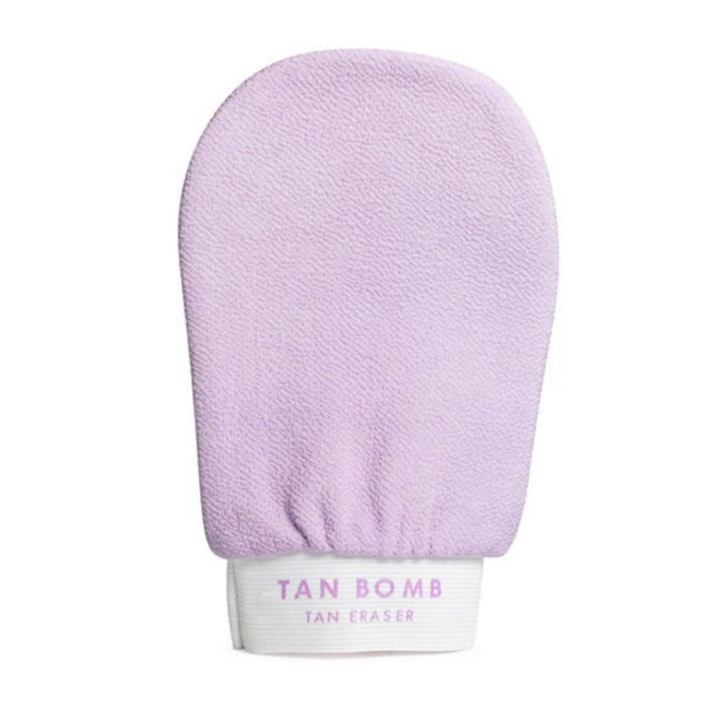 Tan Bomb Exfoliating Tanning Mitt Lilac