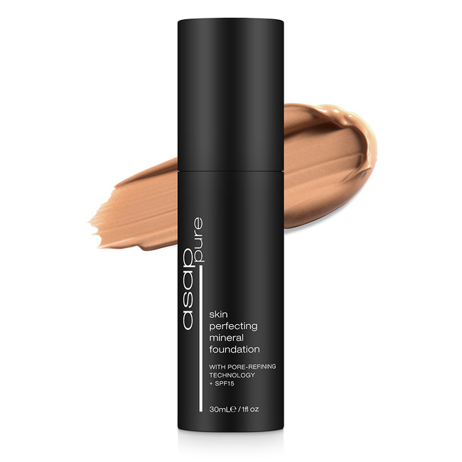 ASAP Pure Skin Perfecting Mineral Foundation Four 30ml
