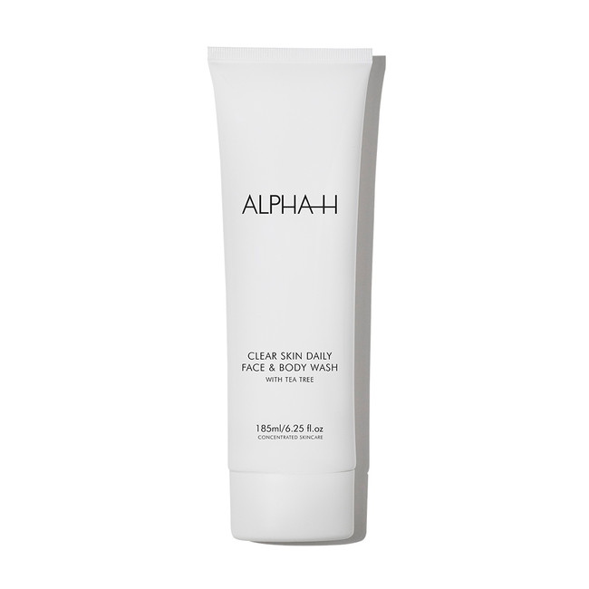 Alpha-H Clear Skin Daily Face & Body Wash 200ml