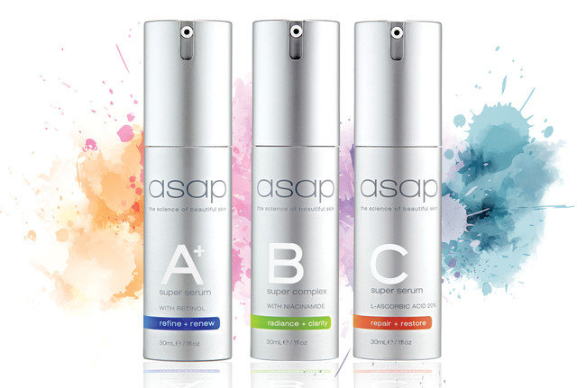Boost your skincare results with an ASAP serum