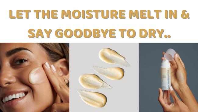 Let the moisture melt in...
