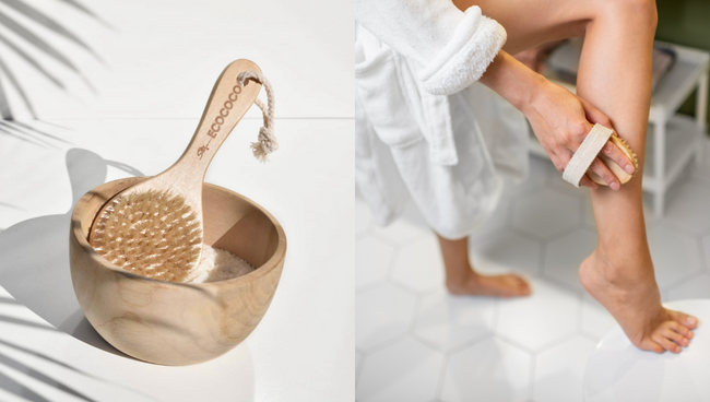 Why we are obsessed with dry body brushing
