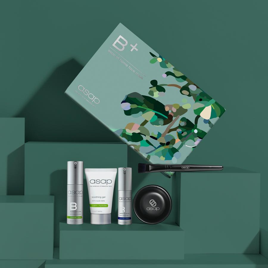 ASAP B + At Home Face Mask Kit