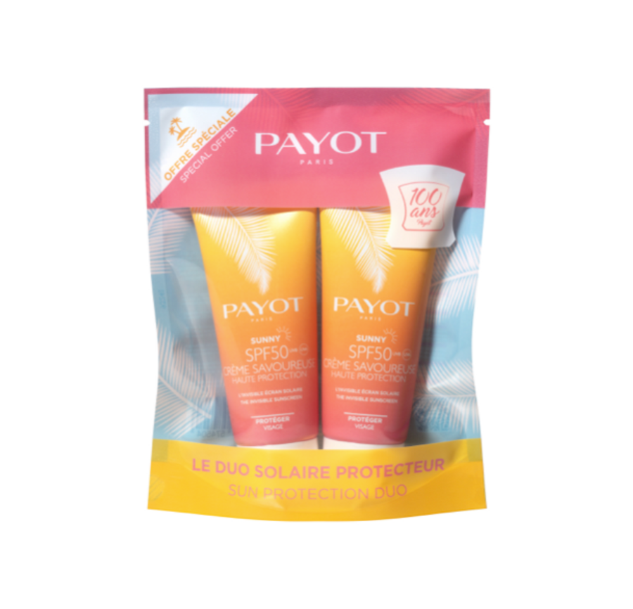 Payot Sunny Duo SPF50 Creme 50ml x 2