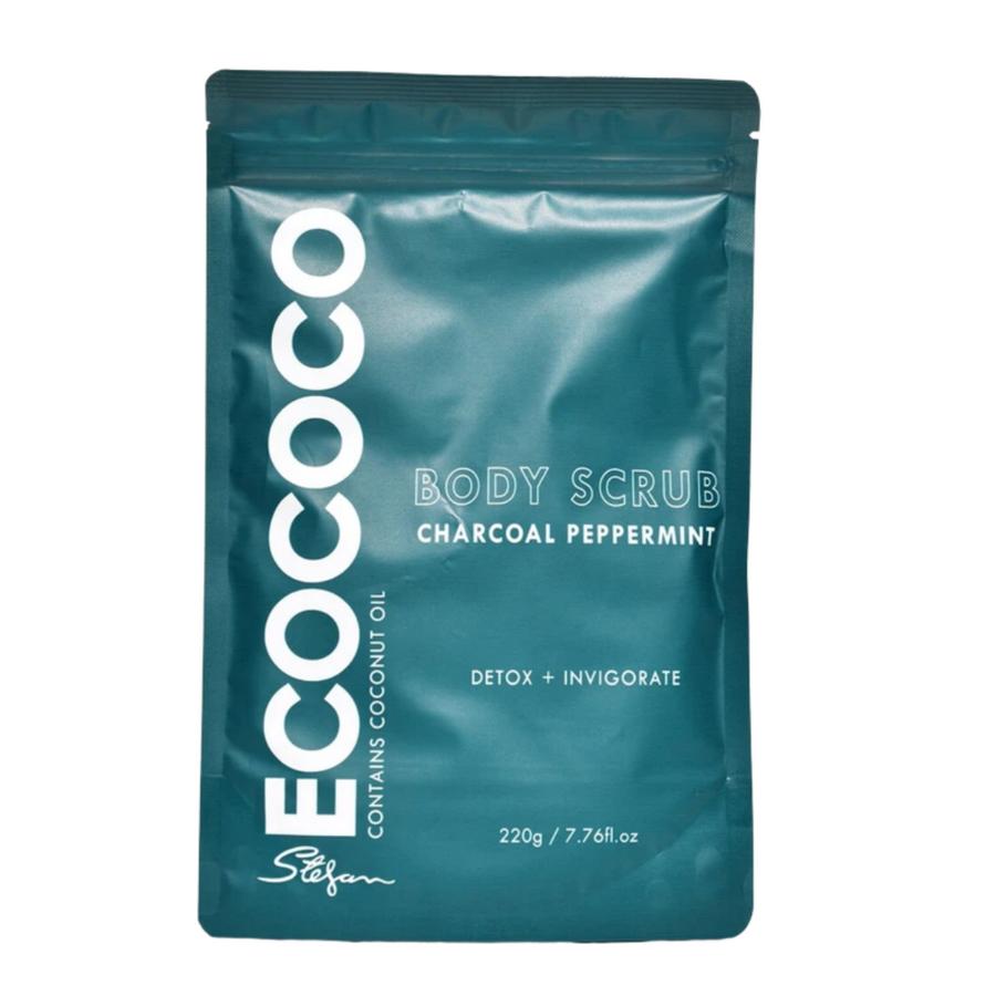 Ecococo Peppermint & Charcoal Body Scrub 20g