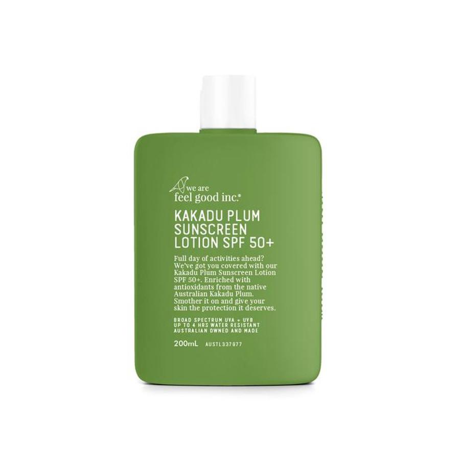 We Are Feel Good Kakadu Plum Sensitive Sunscreen SPF50 200ml