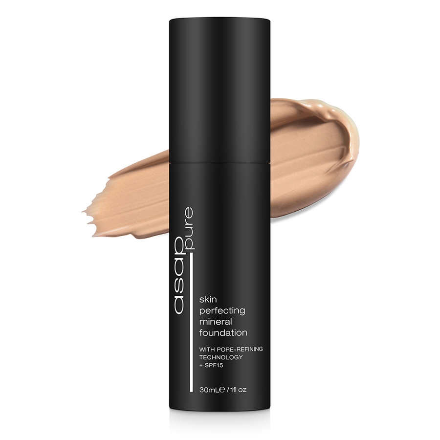 ASAP Pure Skin Perfecting Mineral Foundation Three 30ml
