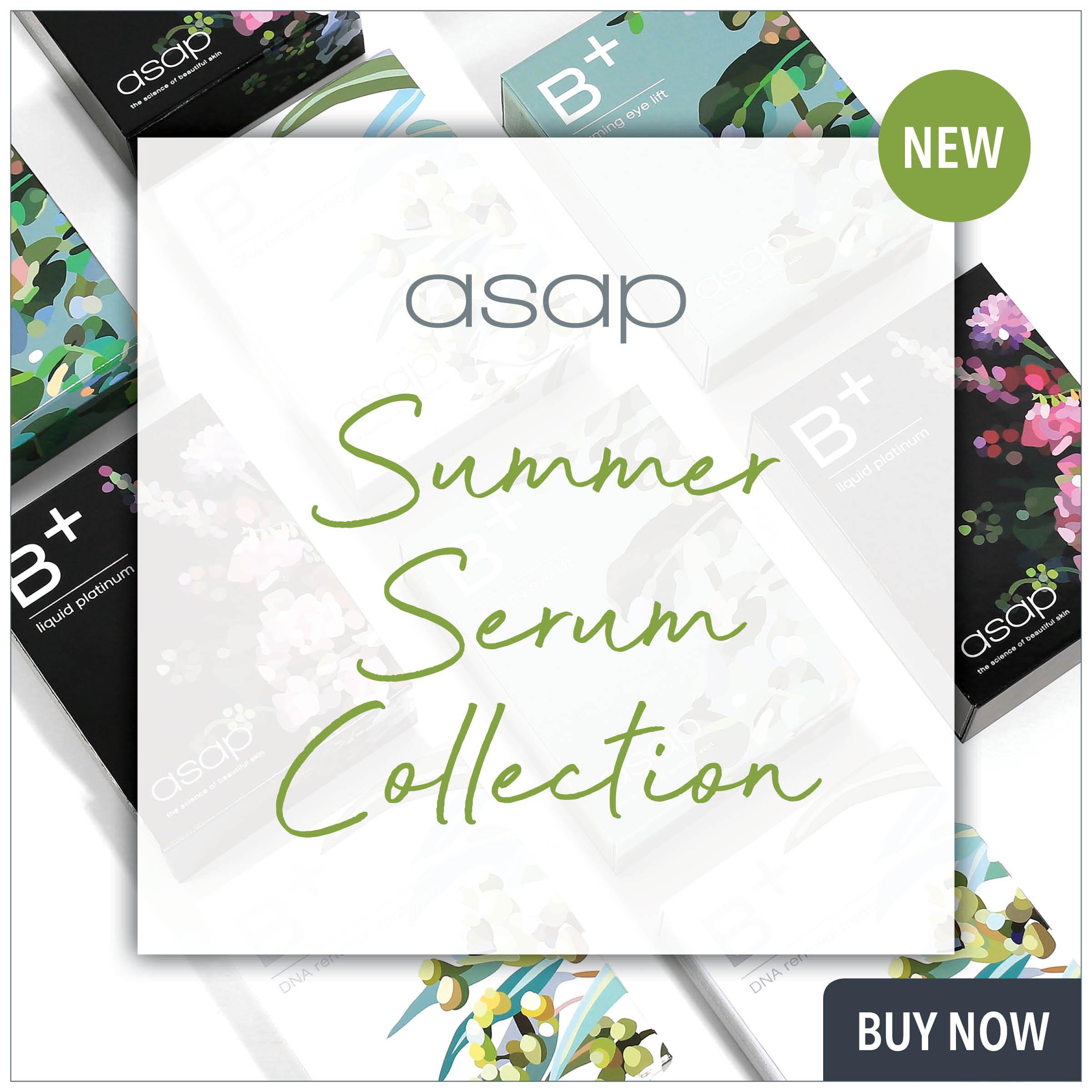 asap summer serums from prodermal