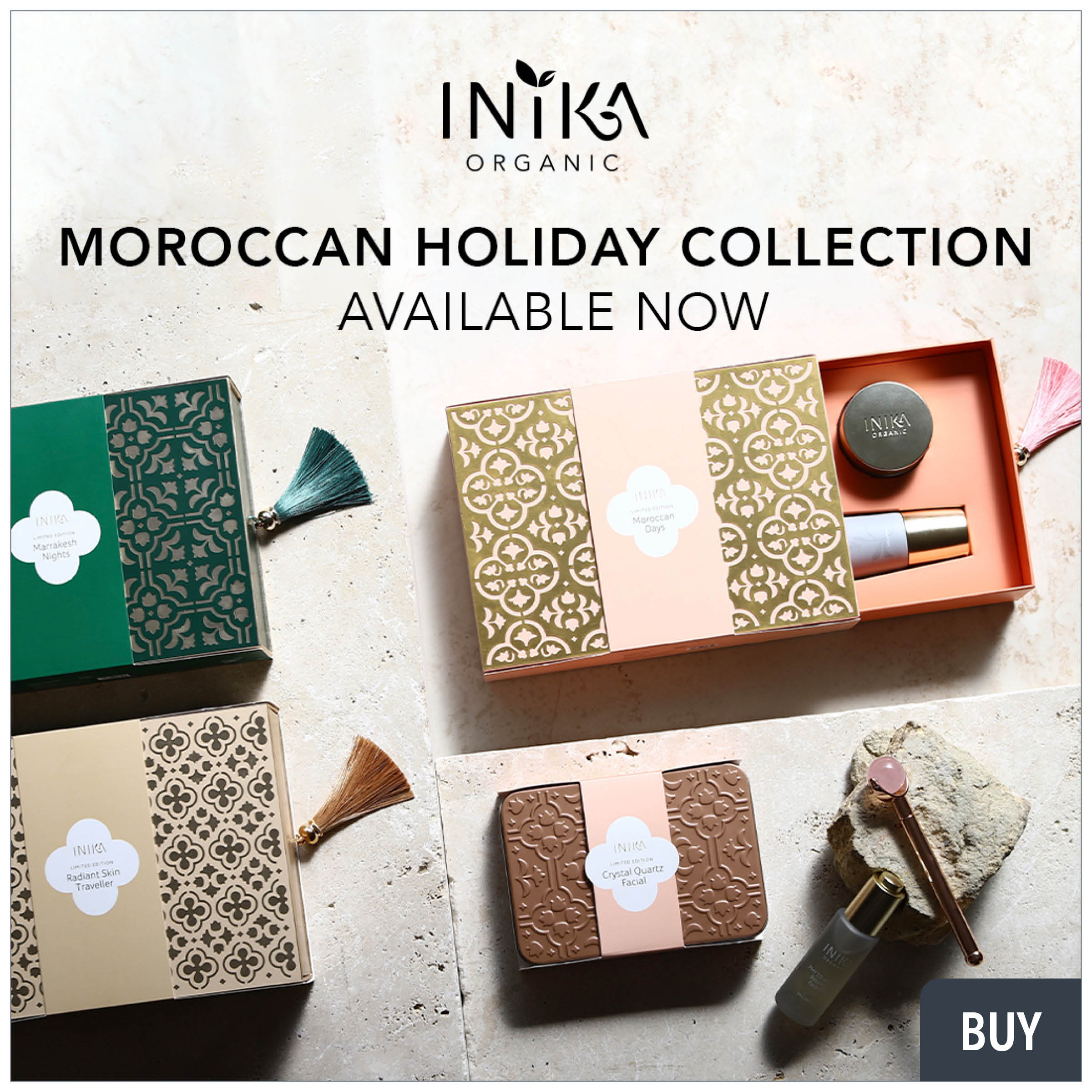 inika holiday collections from prodermal