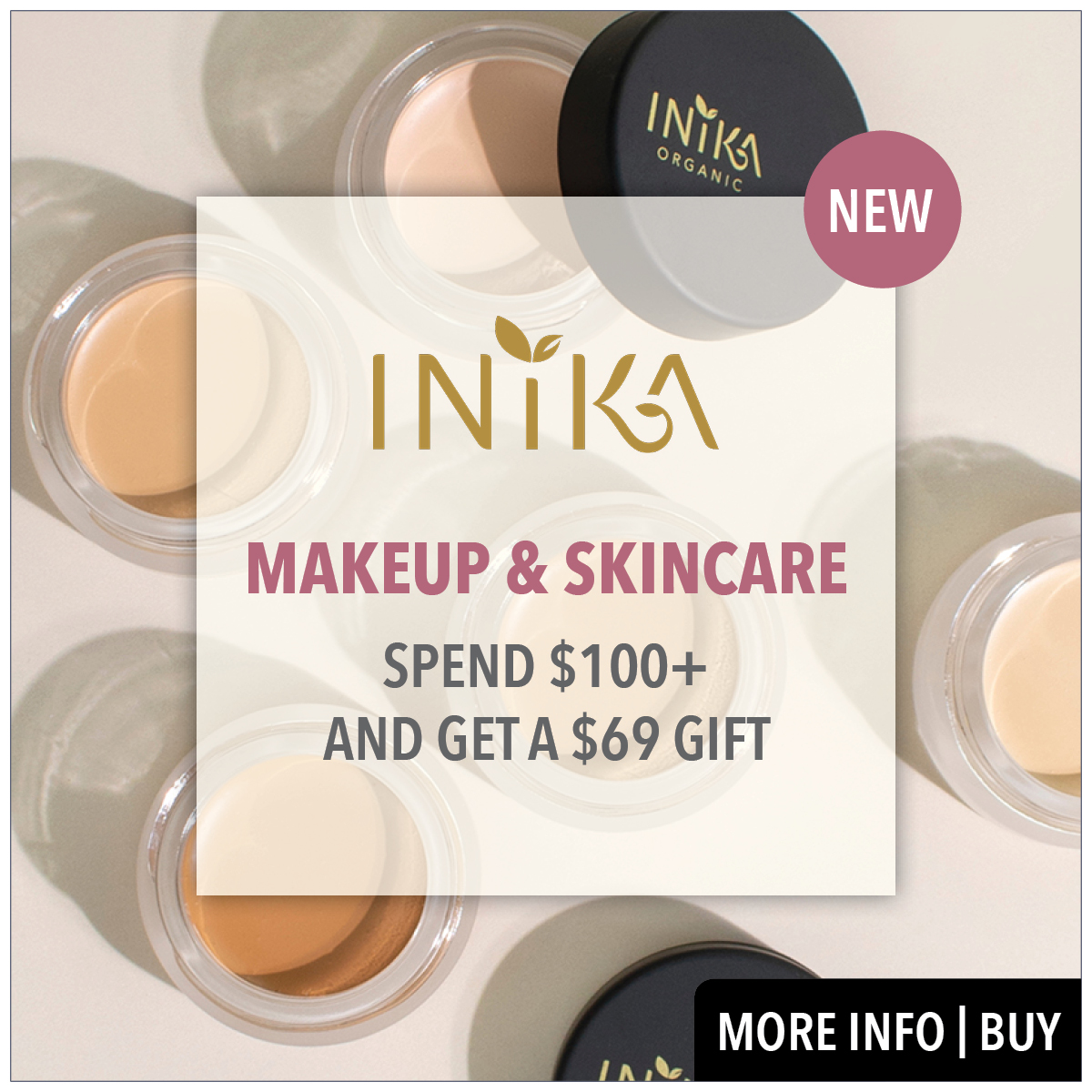 inika makeup and skincare from prodermal