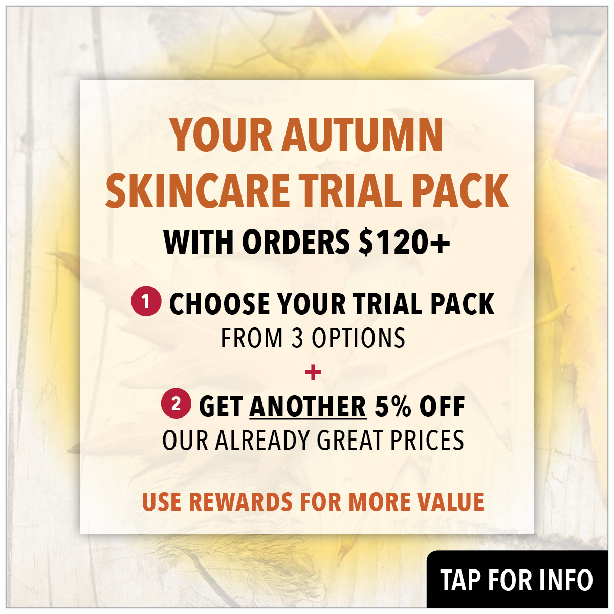 choose your autumn skincare trial pack from prodermal