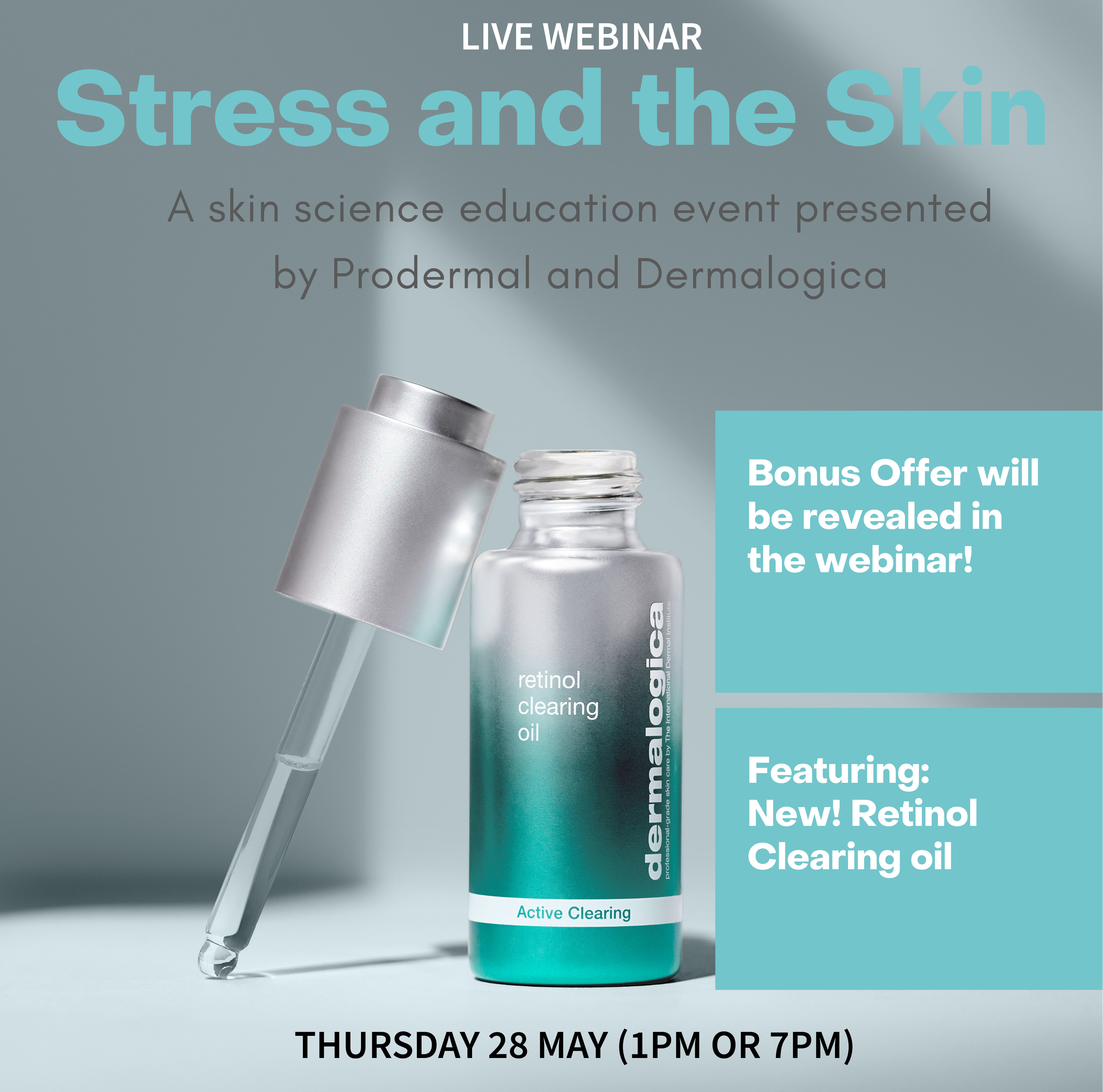webinar - stress and teh skin by prodermal