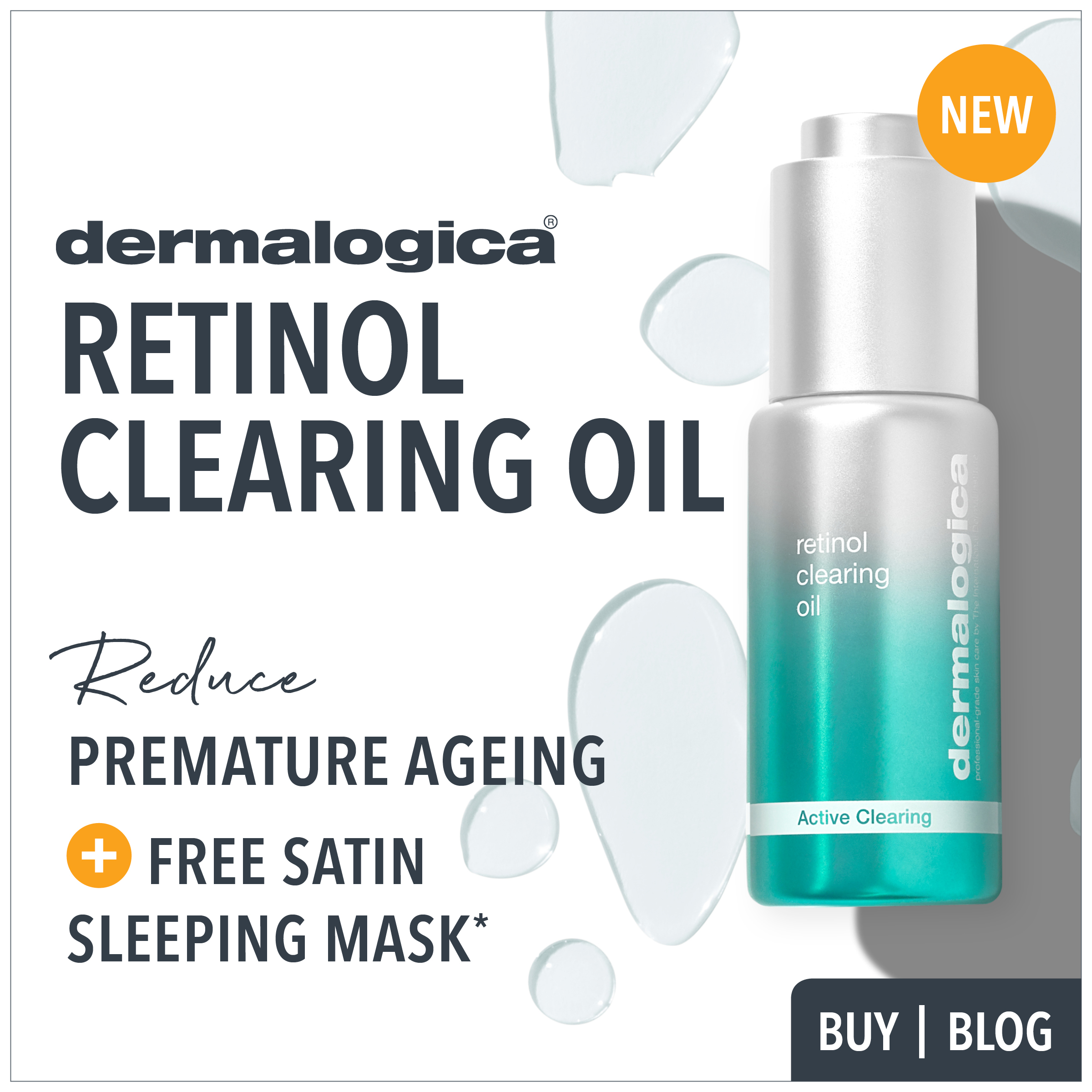 new dermalogica retinol clearing oil from prodermal