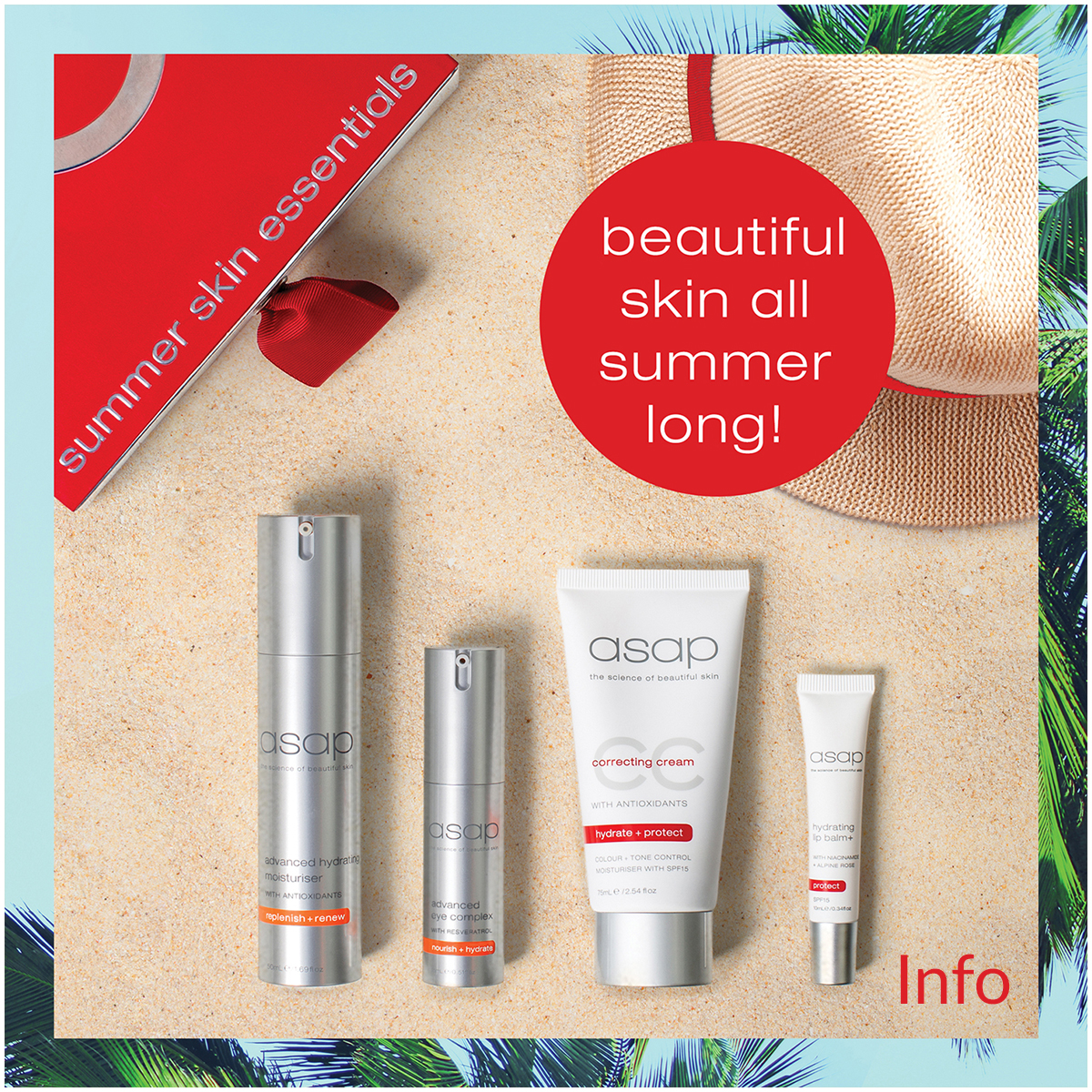 asap summer skin essentials