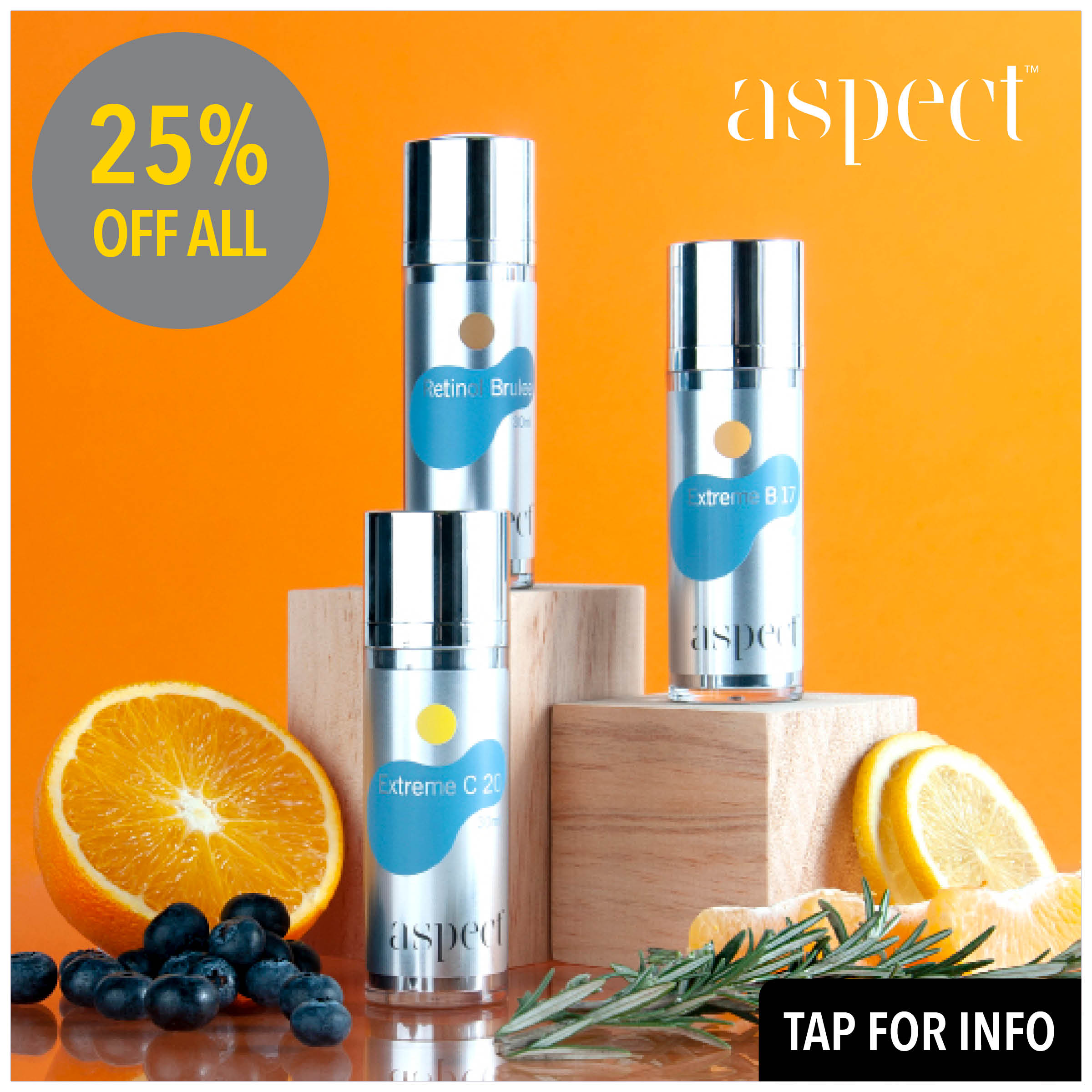 aspect 25% off all
