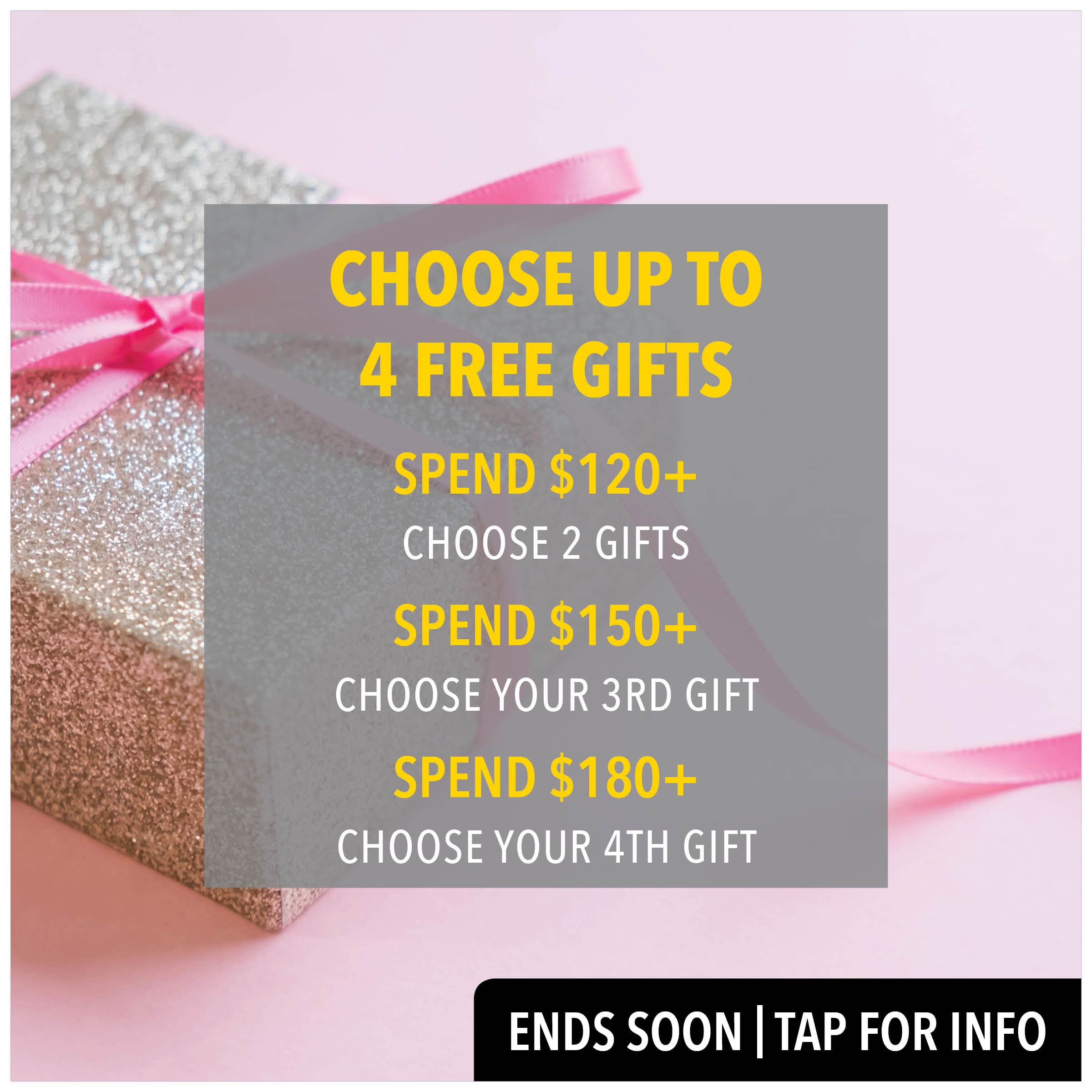choose up to 4 free gifts from prodermal